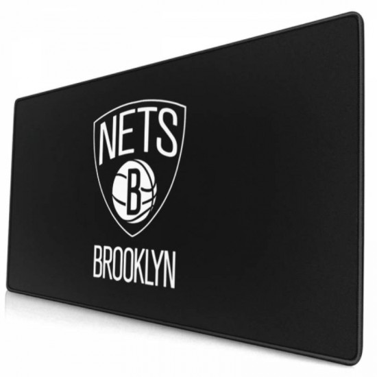 Funny Non-Slip NBA Brooklyn Nets mouse pad 15.8x29.5 in #261110 Sport Mousepad