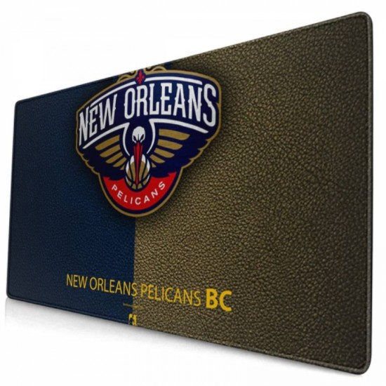 Computer New Orleans Pelicans mouse pad 15.8x29.5 in #237282, Big Mouse Pad
